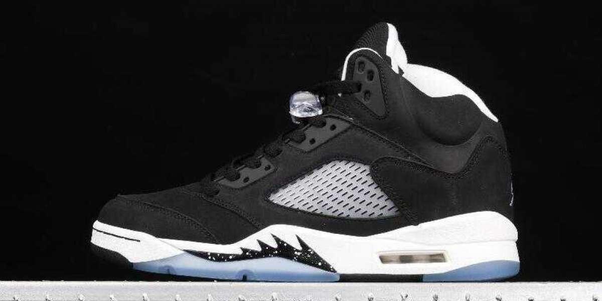 Men Basketball Sneakers Air Jordan 5 Oreo Black White Cool Grey CT4838-011 for Sale